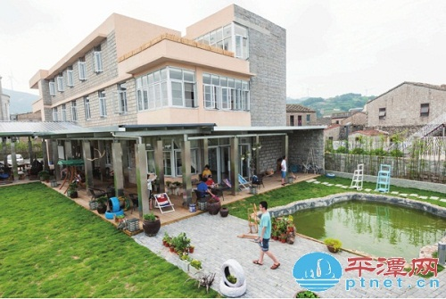 Pingtan's first youth hostel